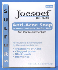 sulfur soap acne cleanser znp replacement soap