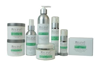 Releve' Organic Skin Care Line