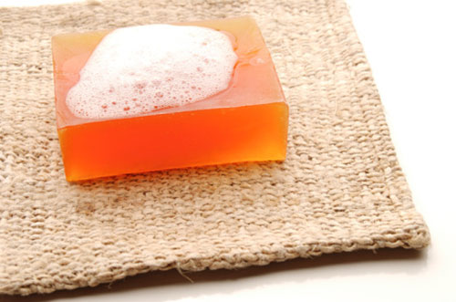 soap as a facial cleanser