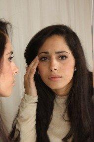broken capillaries on face